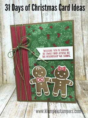 31 Days of Christmas Cards – Day #17