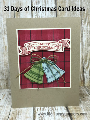 31 Days of Christmas Cards – Day # 19