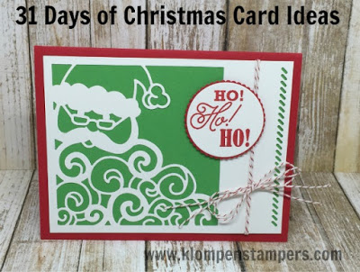 31 Days of Christmas Cards – Day #21