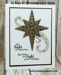 31 Days of Christmas Card Ideas – Day #26