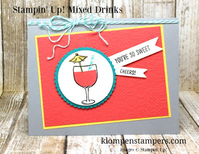 Mixed Drinks Card Series:  Card #2