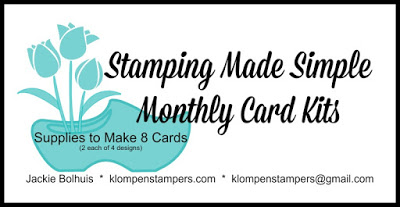 Last Day To Get FREE Card Kit This Month