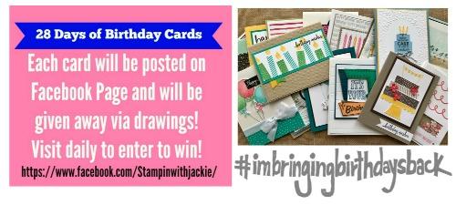 28 Days of Birthday Cards–Card #3