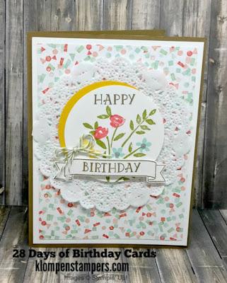 28 Days of Birthday Cards — Day #21