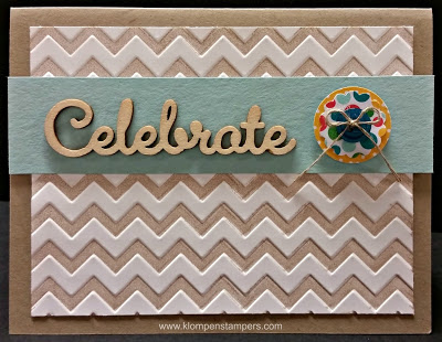 Friday Flashback:  Have You Tried This With Embossing Folders