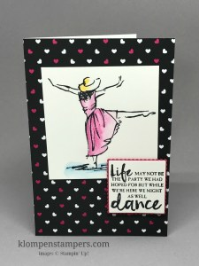 Set of notecards using the Beautiful You stamp set and Watercolor Pencils. Makes a great gift. Cards are all similar, but a little different--making them super easy to make all 7 of them. by Jackie Bolhuis