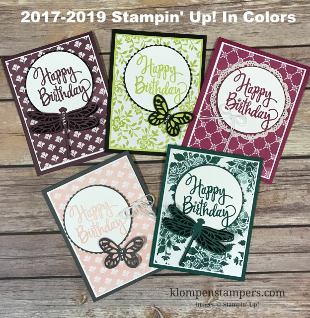 Meet the 2017-2019 New Stampin' Up! In Colors