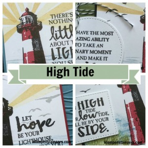 Online stamping class using High Tide stamp set from Stampin' Up!