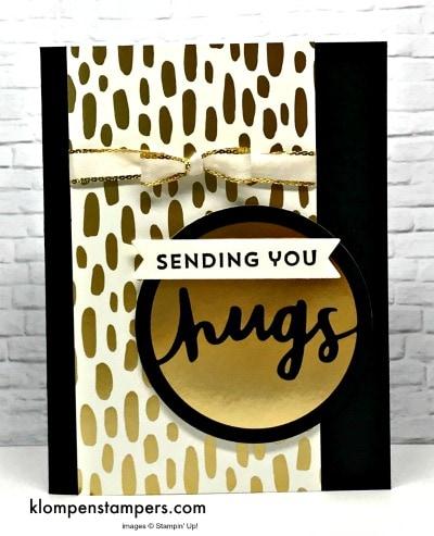 Elegant Card Using Lovely Inside & Out Bundle