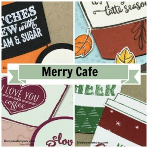 Online stamping class featuring Merry Cafe stamp set from Stampin' Up! Free with order, or purchase class and kit.