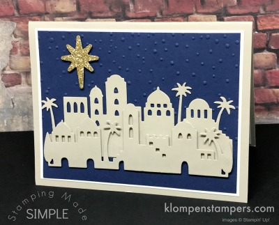 Night in Bethlehem Card #1