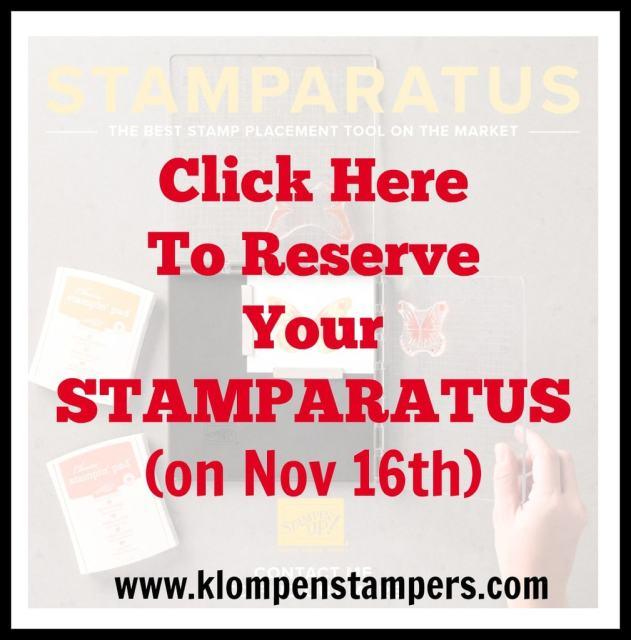 Introducing…the Stamparatus