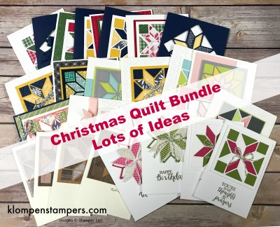 Christmas Quilt Bundle Is Retiring Klompen Stampers