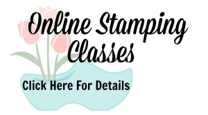 Learn how to make quick & easy cards with online stamping classes from Jackie