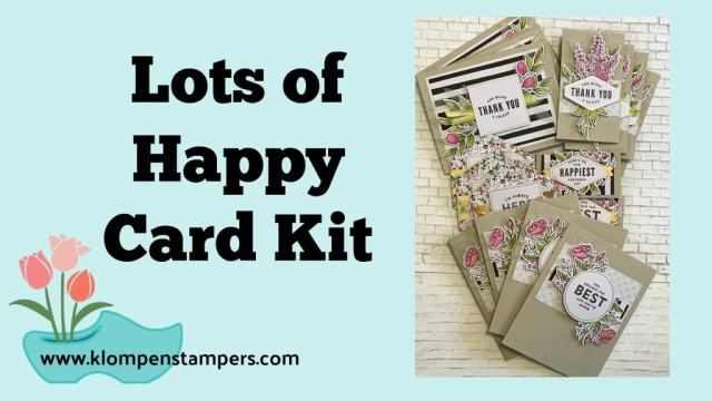 Lots of Happy Card Kit