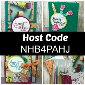 Free Picture Perfect Birthday Online Stamping Class with purchase