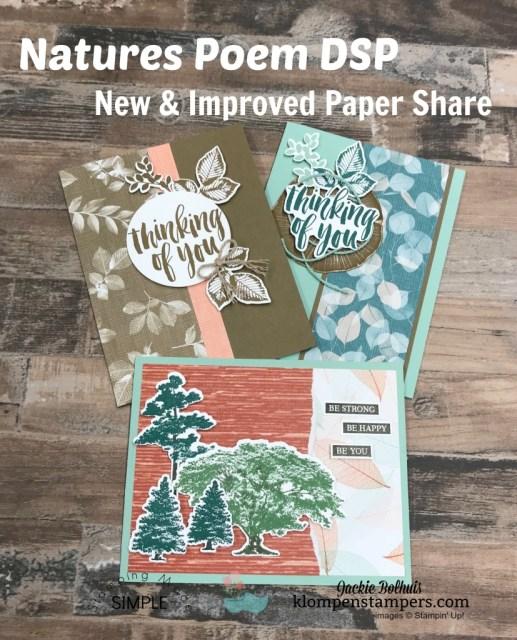 Paper Share-Natures Poem Designer Paper