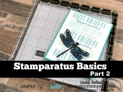 Stamparatus Basics Part 2