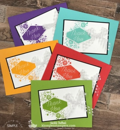 Stampin' Up! Catalog Tour Part 2: Color Collection with Accented Blooms Stamp Set