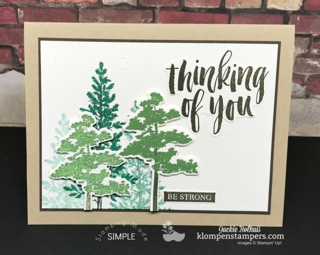 Stampin' Up! Rooted in Nature