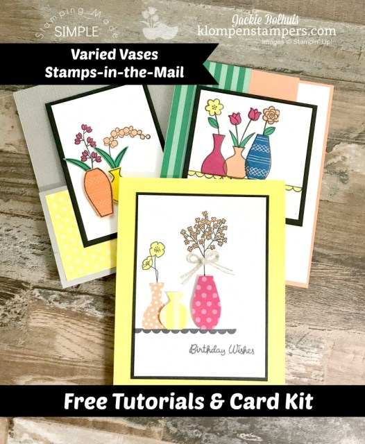 Varied Vases Stamps in the Mail