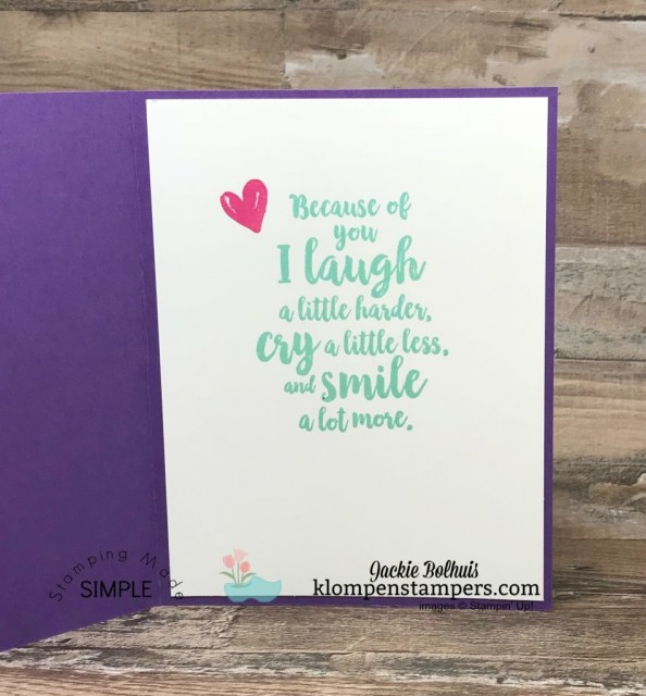 Stitched all Around Stamp Set by Stampin' Up