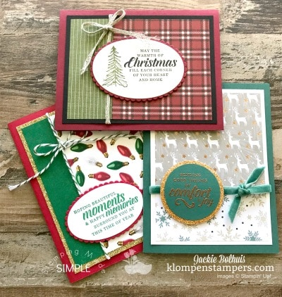 Check Out These New Christmas Designer Series Papers