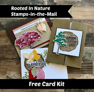 October Free Card Kit by Jackie Bolhuis