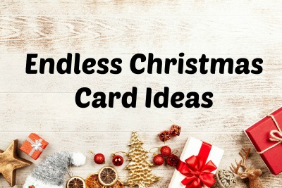 Still Time to Make YOUR Christmas Cards