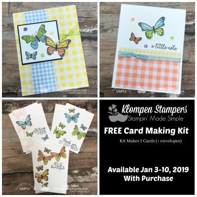 Cardmaking Kit | Butterfly Gala