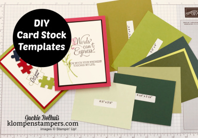 Make Life Easier Learning How to Cut Cardstock for Cards