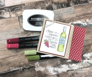 I'll Drink to That! How to Make A Fun Gift Card Holder