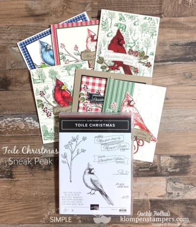 Must-See 2019 Holiday Sneak Peek | Gold Mine of Card Design Ideas