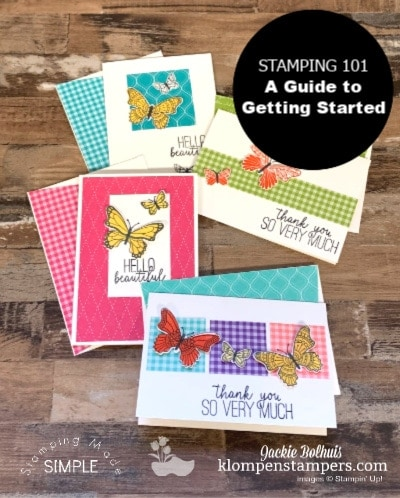 Stamping 101-A Guide for Getting Started