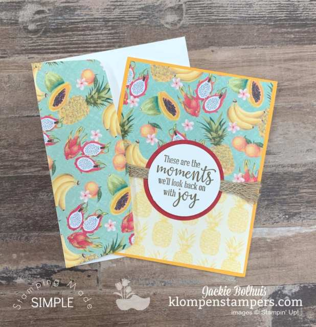 Decorate-an-Envelope-with-Matching-Birthday-Card-in-Tropical-Fruit