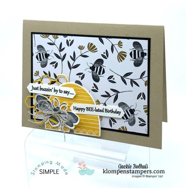 Bee-Impressed-Greeting-Card-Birthday-and-Belated-Birthday