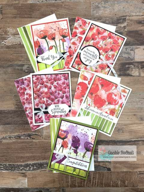 Beautiful-Greeting-Cards-Handmade-with-Peaceful-Poppies-by-Klompen-Stampers