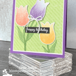 Love Tulips? Make this Simple Card with a Punch!