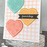 Easy DIY Card with Heart Punch