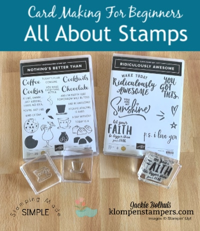 Complete Guide to Stamps + 9 Easy Cards | Card Making for Beginners
