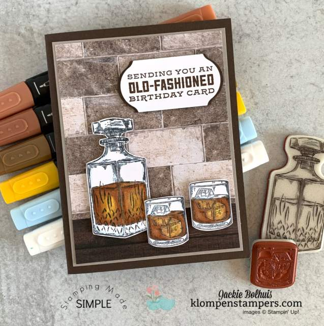diy-birthday-card-whiskey-bottle-colored-with-stampin-blends