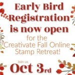 Creativate Online Stamping Retreat Fall 2020