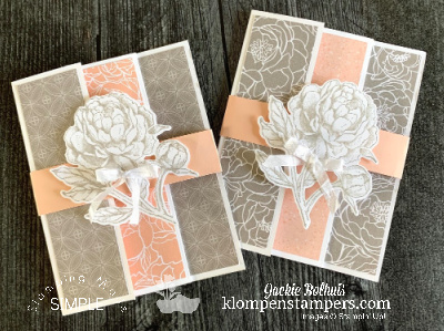 How to Make a Gorgeous Fun Fold Card in Under 10 Minutes
