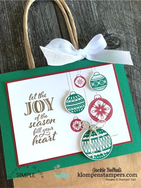 These DIY gift bags are no peek gift bags that are hot items for craft fair selling.