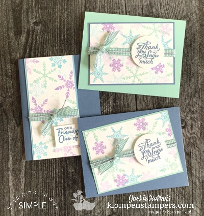The Best Hand Stamped Cards That Are Easy to Make All Winter Long