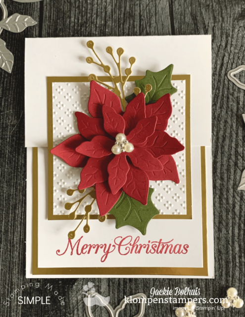 Elegant Christmas cards are perfect to make this holiday season