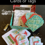 Paper Craft Kit You'll Love for Christmas Cards & Tags