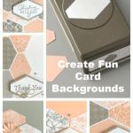 Create Fun Card Backgrounds