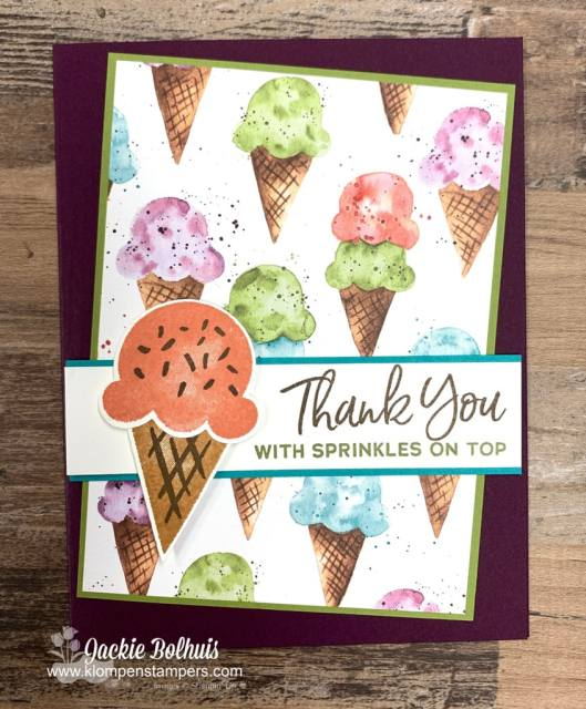 This sweet simple card design was made so easily in 5 minutes with bright colors, and a handy craft punch!
