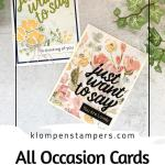 All Occasion Cards Handmade